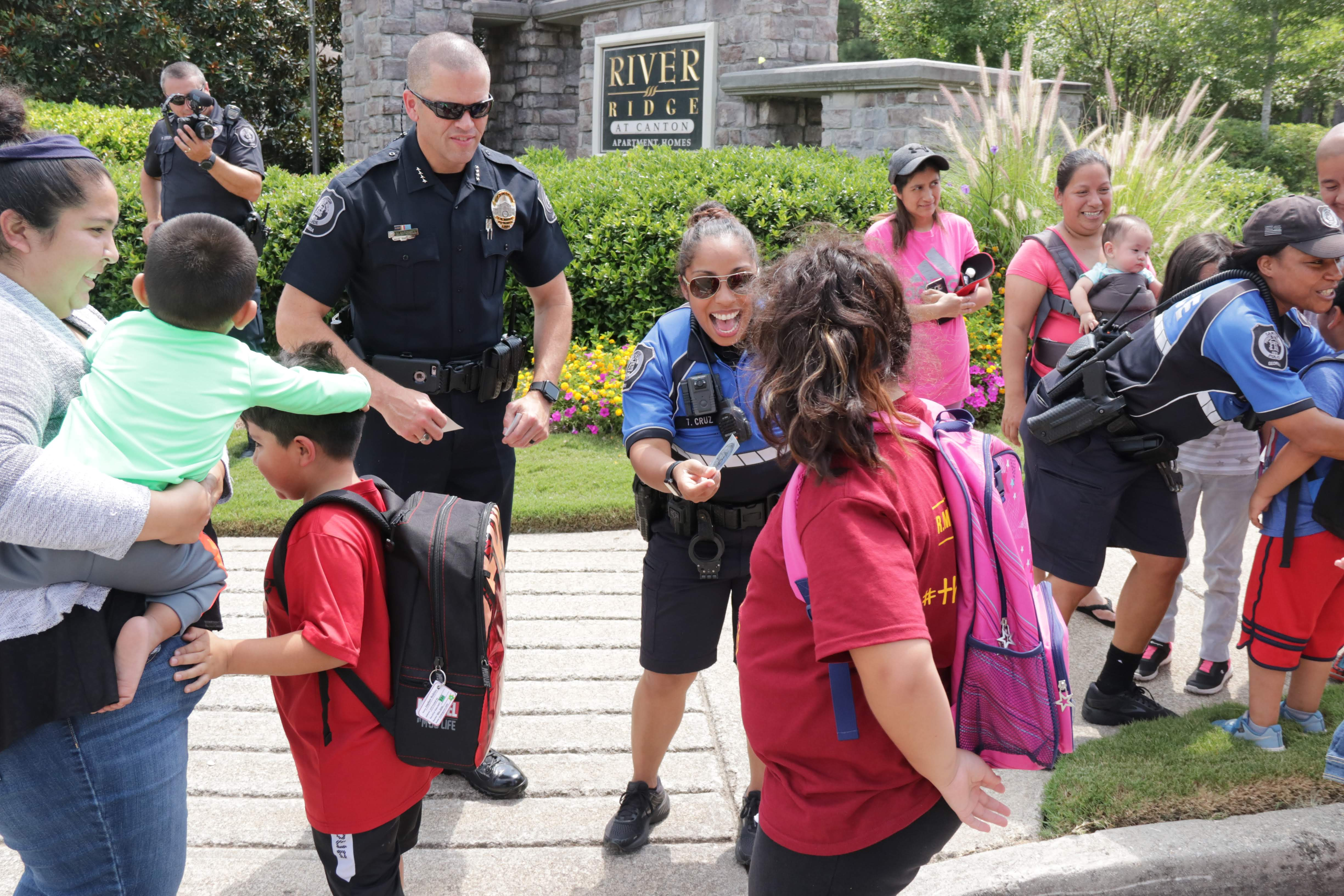 Police Departments Prioritize Community Engagement
