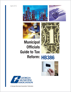 Municipal Officials Guide to Tax Reform: HB 386
